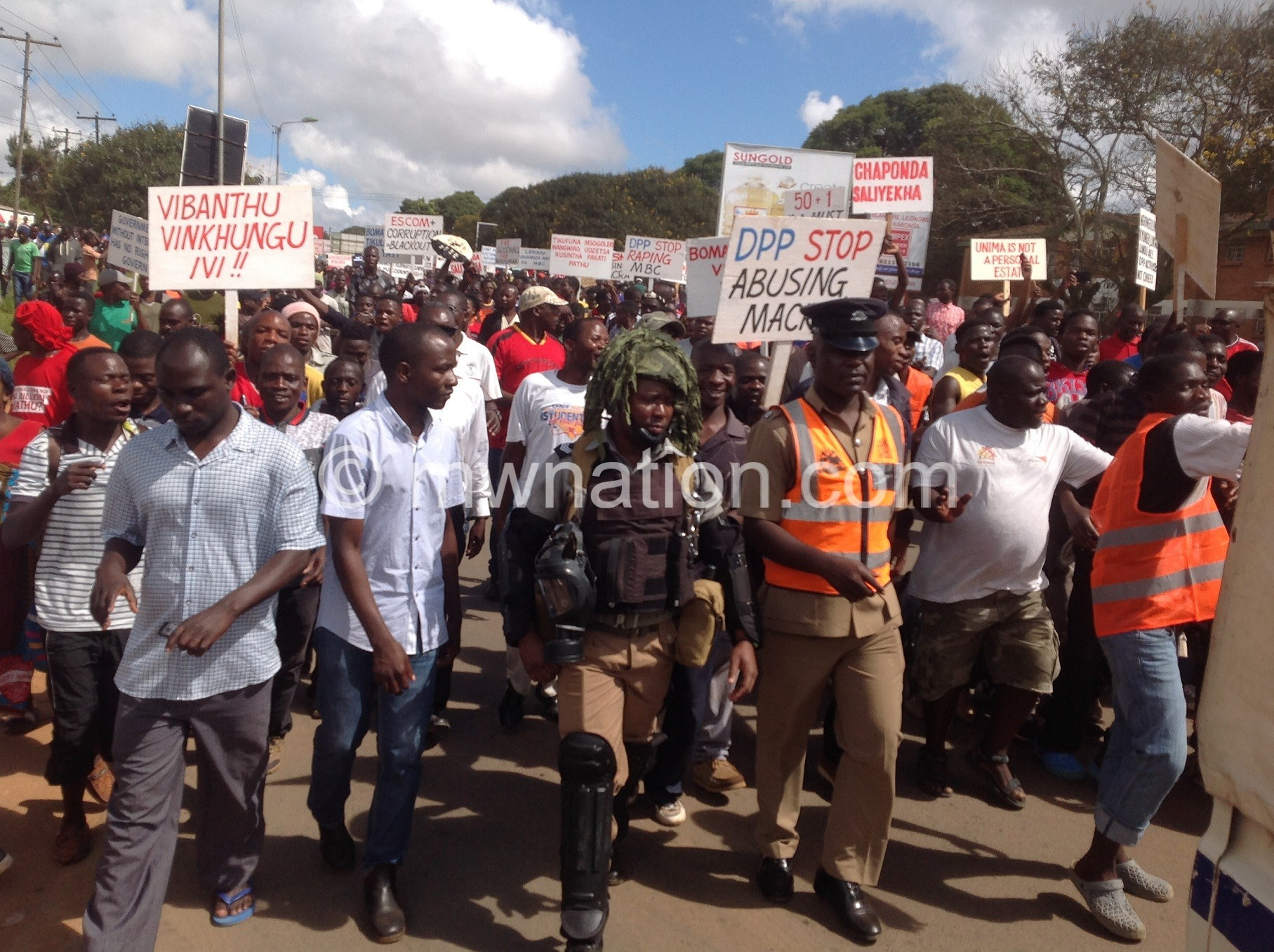 Mzuzu demo | The Nation Online