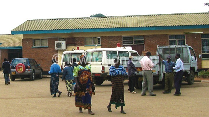 Blackouts put patients' lives in danger at Dedza District Hospital