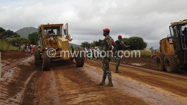 Government starts upgrading Tsangano road