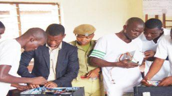 Sharing ICT skills in prison