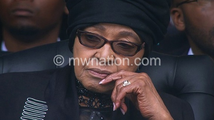 SA mourns Winnie Mandela
