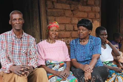 Alice with her nephew and niece | The Nation Online