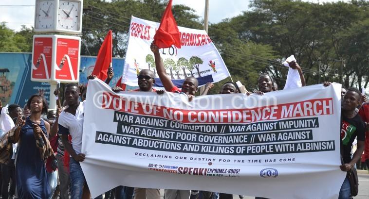 April demonstrations | The Nation Online