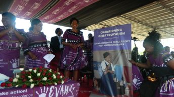 Stop violence against women  and girls—First Lady