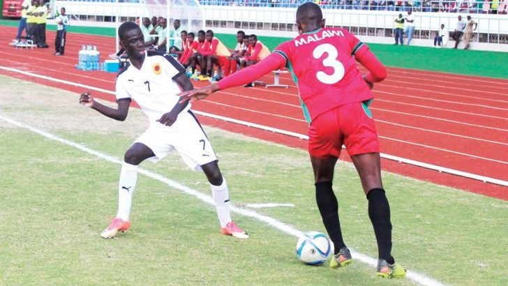 What a shame: Under-20 lose at home to Angola