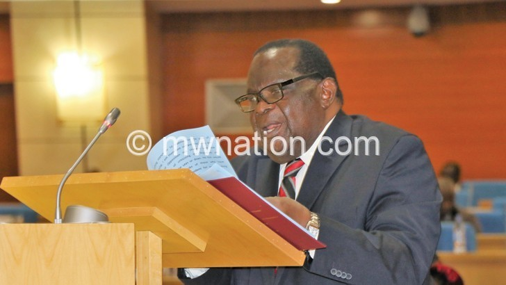 Goodall Gondwe | The Nation Online