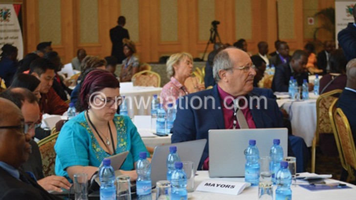 Mayors Forum   The Nation Online