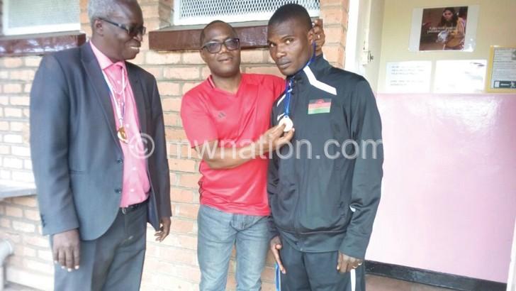 Mwaungulu urges athletes to aim higher