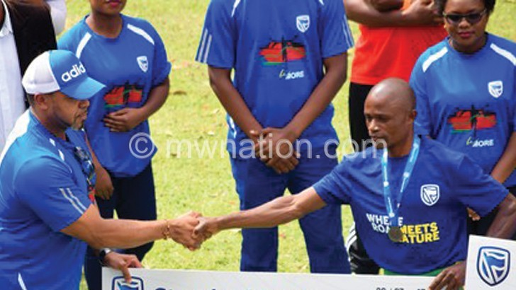 Mcherenje, Chirwa vow to defend Be More Race