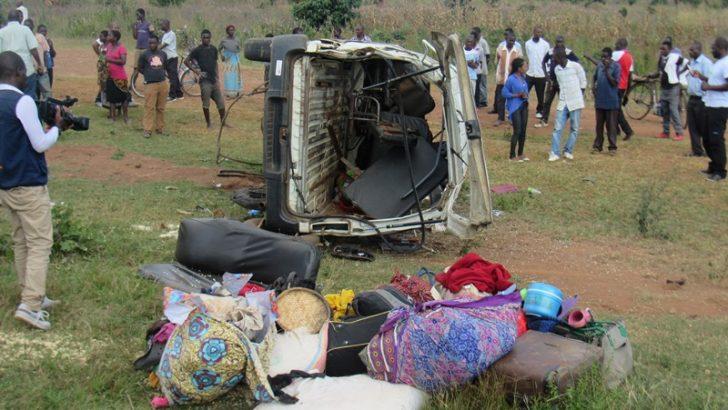 5 die, 10 injured in Nathenje road accident