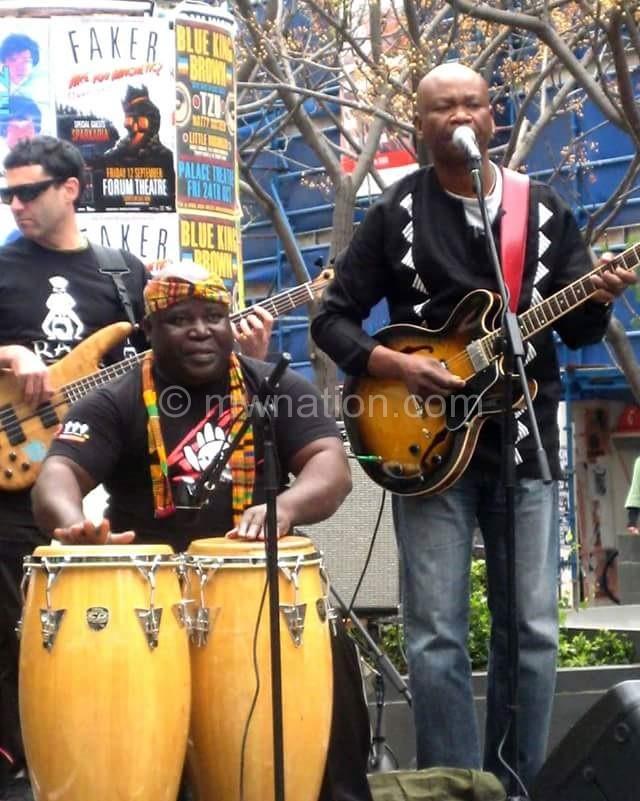 congolese drumer Diouf Nyusu 3 | The Nation Online