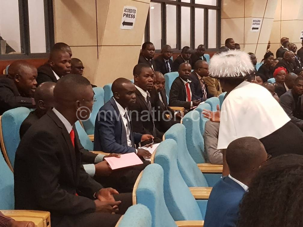 dpp cadets parliament1 | The Nation Online