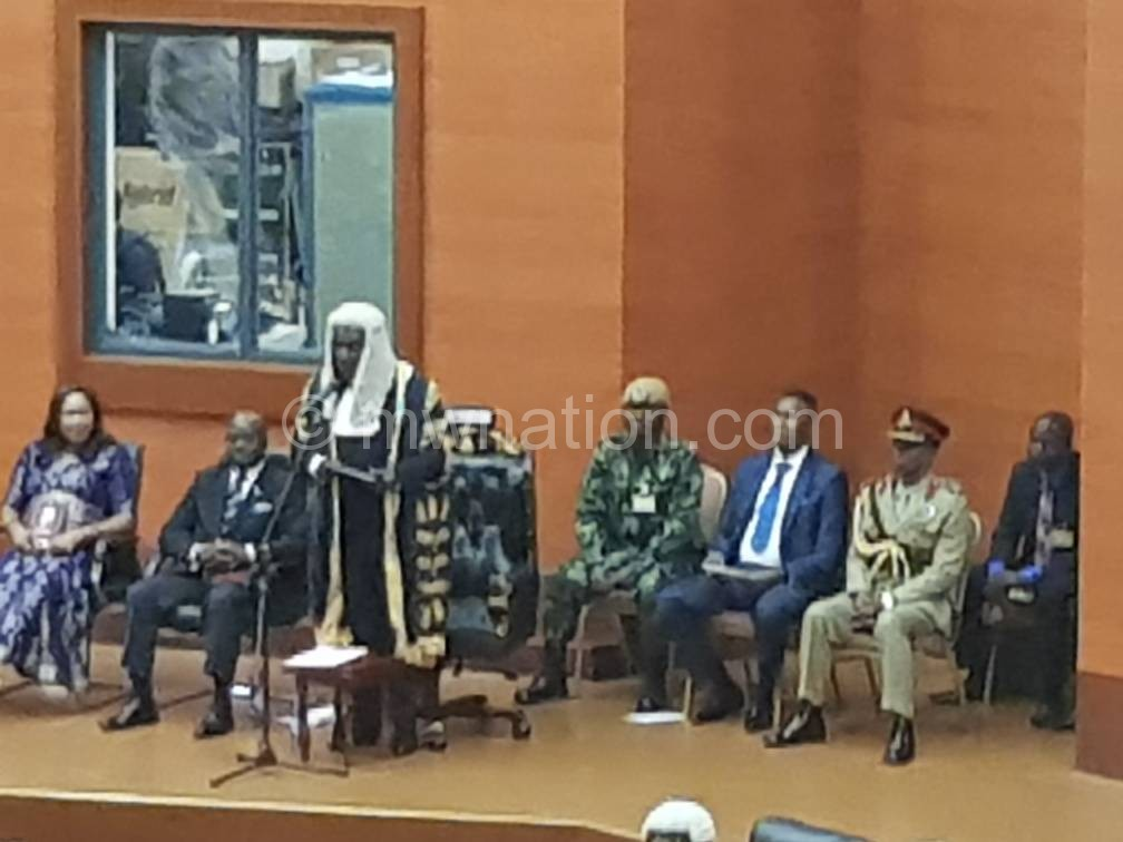 dpp cadets parliament speaker | The Nation Online
