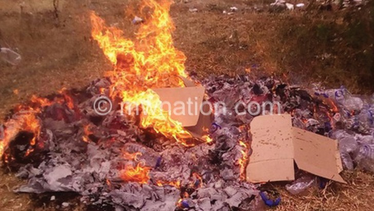 MBS, police burn liquor in Chikwawa