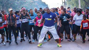 Ministry of Health partners Be More Race