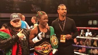 K78m budget for Anisha WBC fight