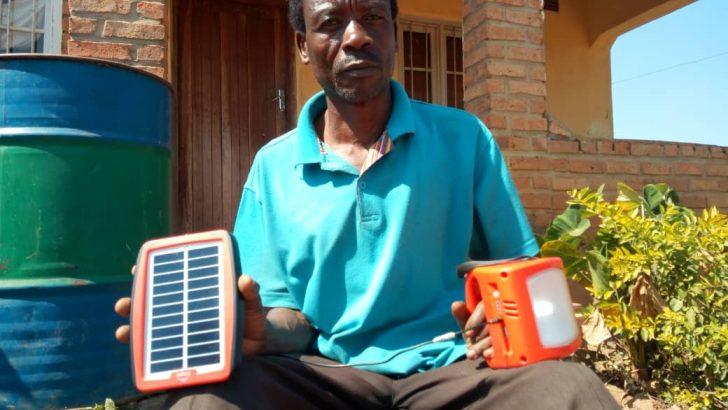 Solar lamps banish paraffin fumes