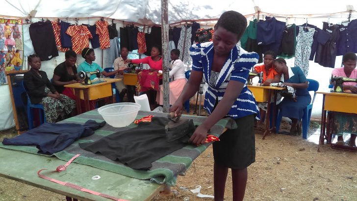 Tailoring offers hope to 31 women