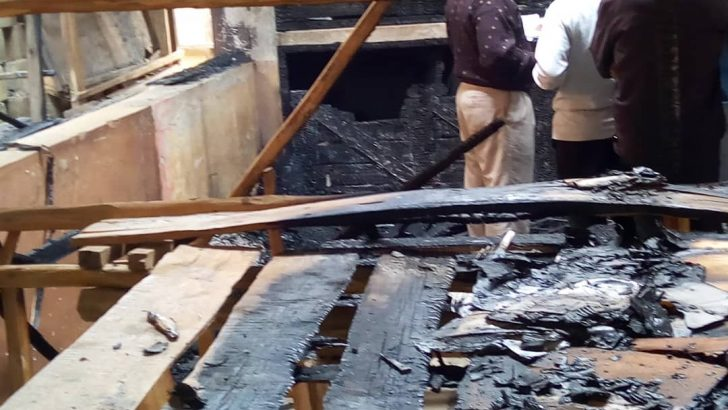 Fire guts part of Zomba flea market