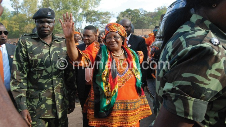 Joyce Banda to contests in 2019 elections
