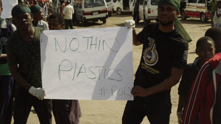Protest turns into awareness  walk against plastics