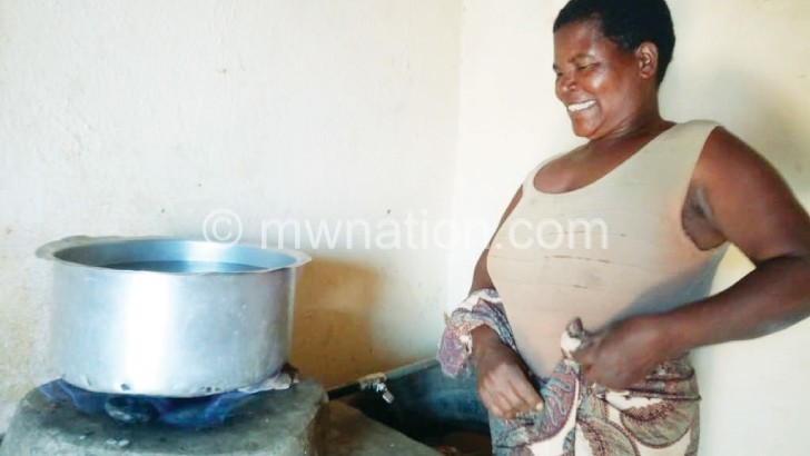 Biogas for smokeless cooking