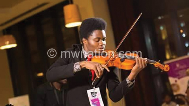 A violinist with a dream