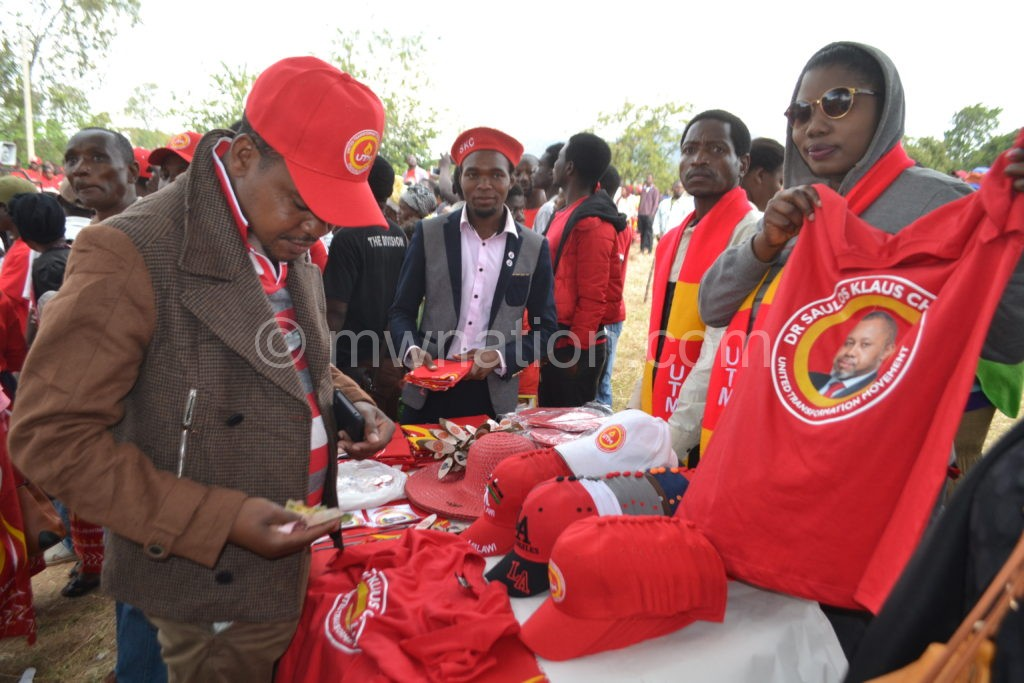 Business at Chilima rally | The Nation Online