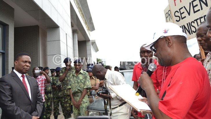 CSOs deliver petition | The Nation Online