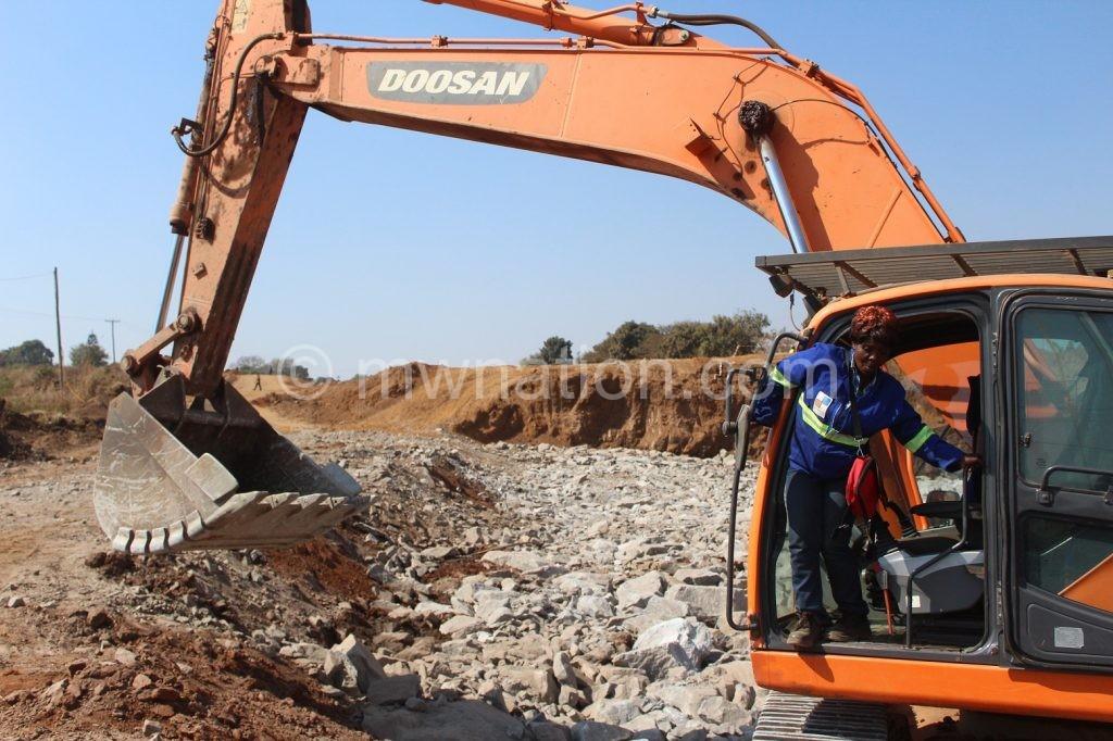 Excavator mwapasa | The Nation Online