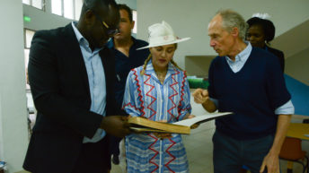 Madonna proud of Mercy James Centre