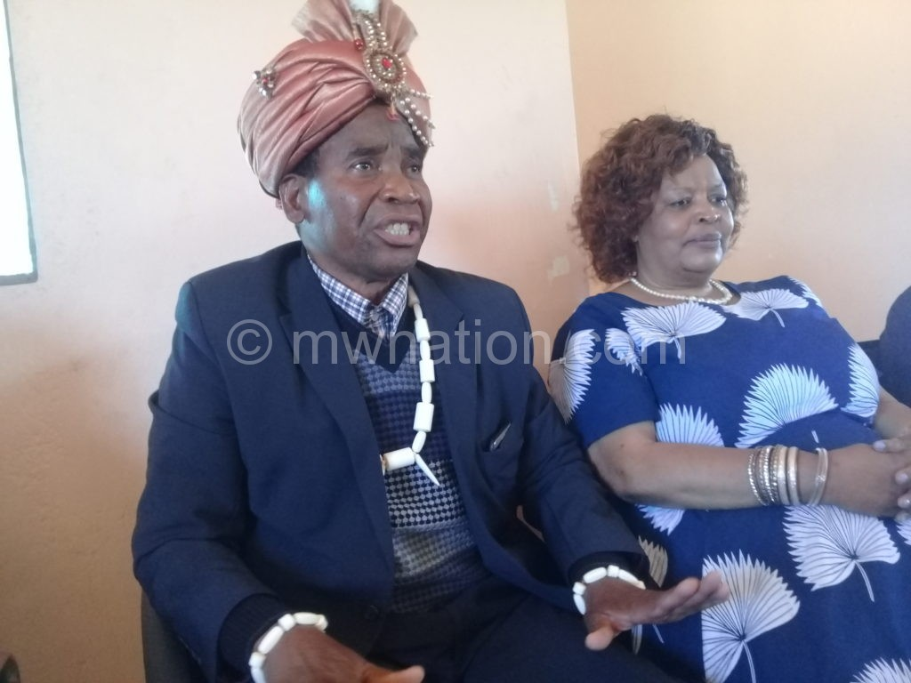 Paramount Chief Ngolongoliwa captured with Senior Chief Chikumbu1   The Nation Online