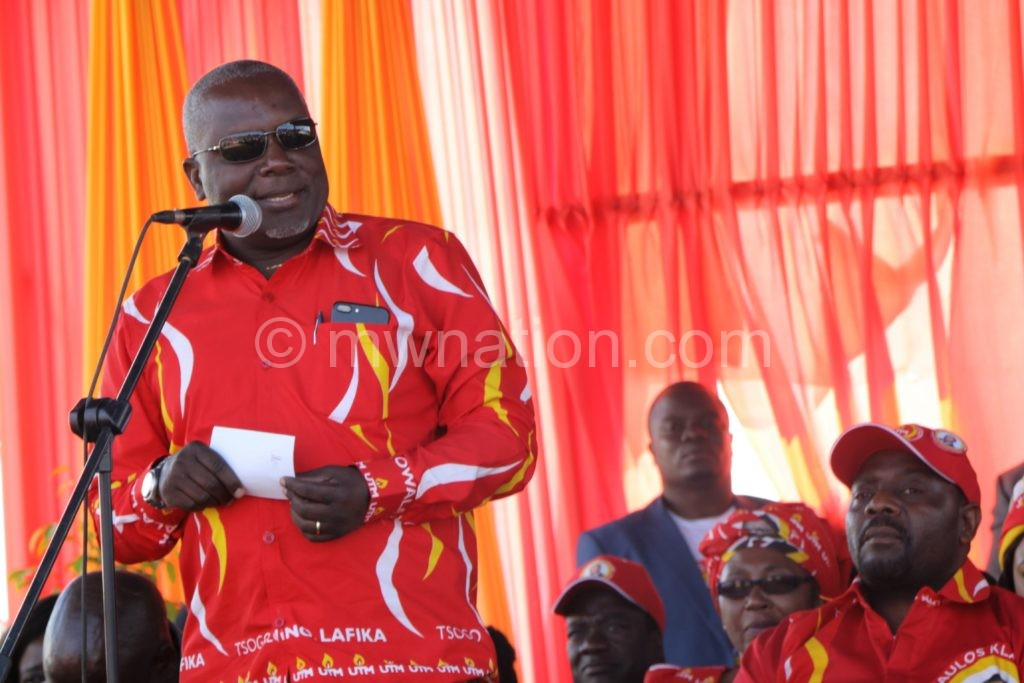 Speaker Richard Msowoya 1   The Nation Online