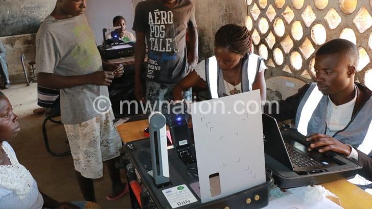 Voters registration | The Nation Online
