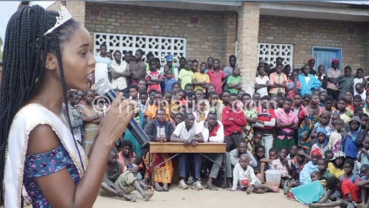 Miss Malawi motivates girls on education