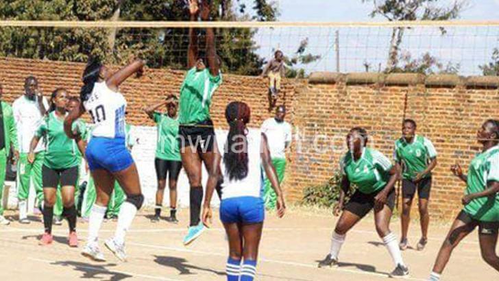 Kamuzu Barracks Ladies take lead in Sempha volleyball