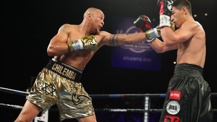 Professional boxers' mixed fortunes