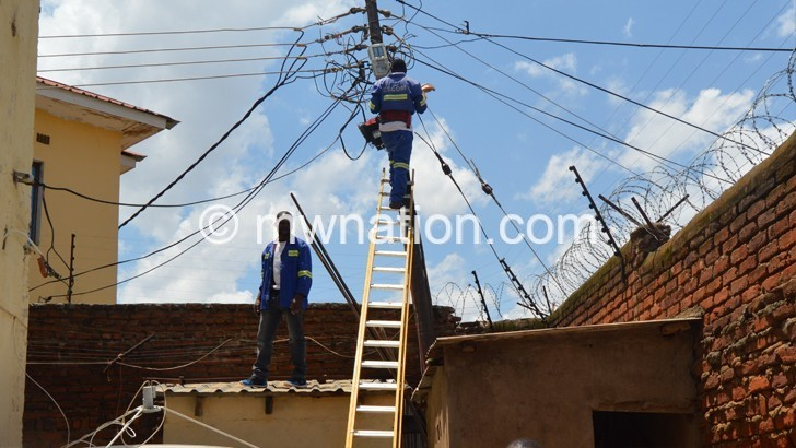 MCA partially hands over  Nkhoma Power Substation