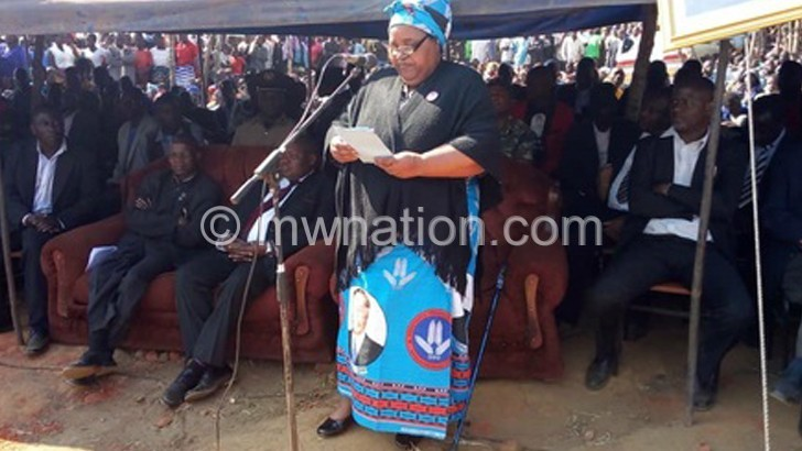 Minister appeals for smooth succession