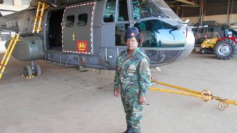 Martha Theu – MDF's only female aviation mechanic