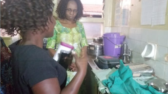 Ntchisi mother sutured  without anesthesia