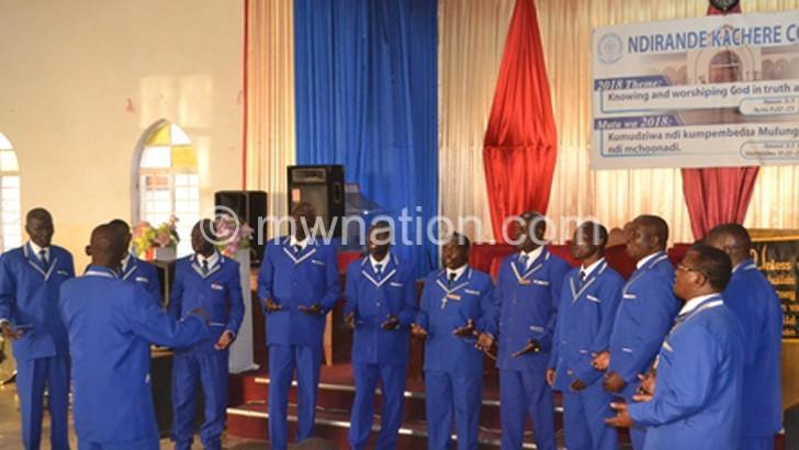 Mchengautuba Madodana Choir in action | The Nation Online