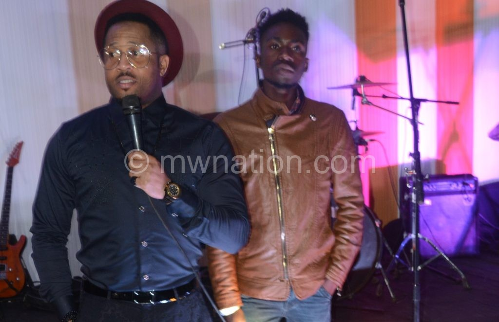 Mike Ezeruonye addressing patrons | The Nation Online