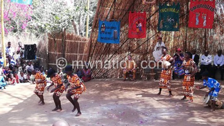 Kungoni Arts Festival for traditional dances
