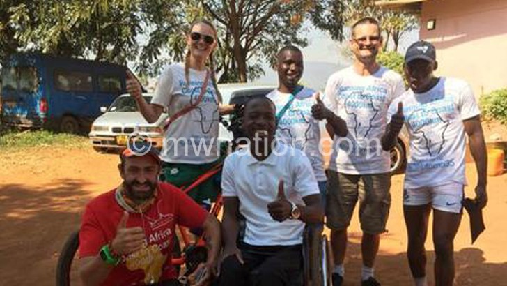 Briton in aid of Mulanje orphans