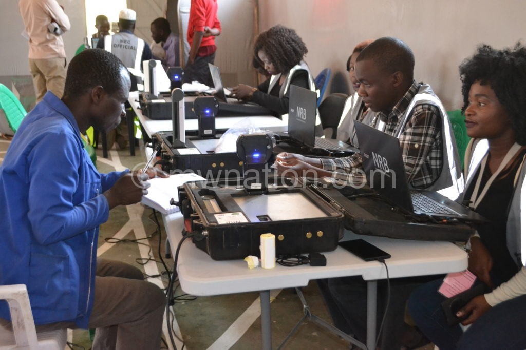 Voter registration | The Nation Online
