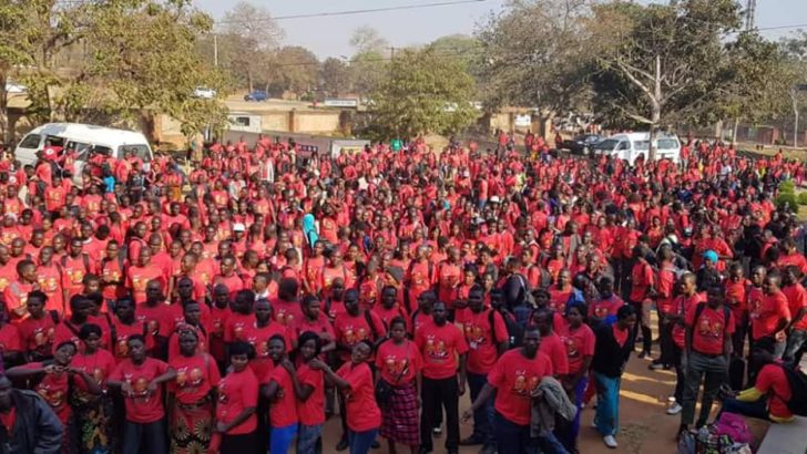 MCP youths in solidarity march
