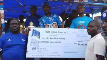 Ben Phiri launches trophies in Thyolo