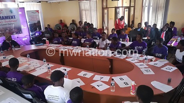 CHILDREN PARLIAMENT IN PROGRESS | The Nation Online