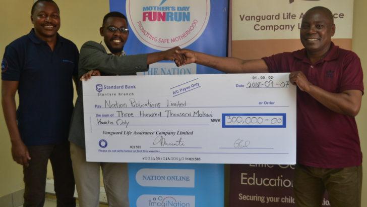 Vanguard sponsors 36km to Kambewa